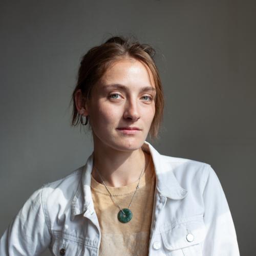 Portræt af Katja Sara Pape de Neergaard