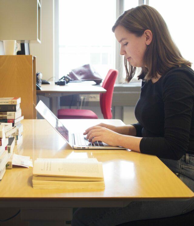 Portræt: Ph.d.-studerende ved Saxo-Instituttet Katrine Rønsig Larsen